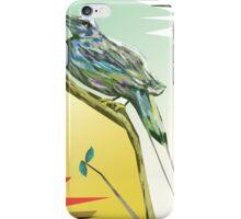 Long tailed blue bird 3 iPhone Case/Skin