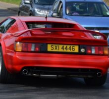 Red Lotus Esprit Sticker