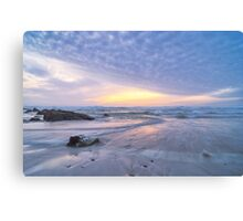 Winter Rush Canvas Print