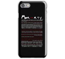 Mor(ia)rty (alternate) iPhone Case/Skin