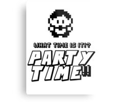 8-bit PARTY TIME!! Metal Print