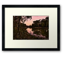 Murrumbidgee river  Framed Print