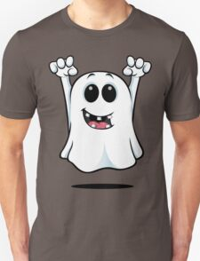 Cartoon Ghost - With Gapped Teeth Unisex T-Shirt
