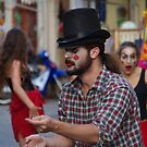 Street Theater 1 by Francis Drake