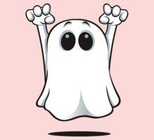 Cartoon Ghost Baby Tee