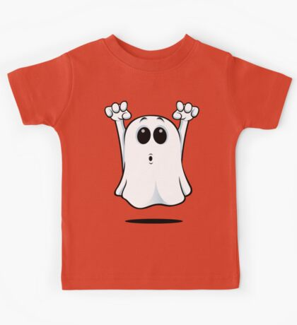 Cartoon Ghost - Going Boo! Kids Tee
