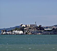"""The Rock""  -  Alcatraz Island by Gail Jones"