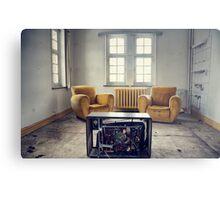 TV room Metal Print