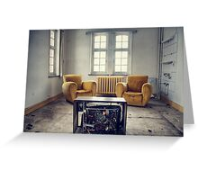 TV room Greeting Card