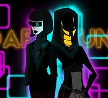 Daft Punk- Mass Effect by hoiist