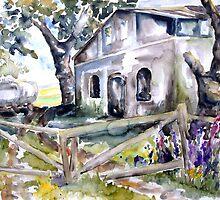 Abandoned Farm, Nossentin - Germany by Barbara Pommerenke