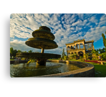 The Ruins Canvas Print