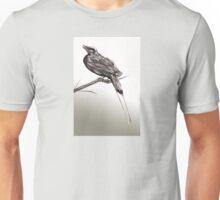 Long tailed blue bird 2 Unisex T-Shirt