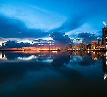 Manila Sunset by Arman Barbuco