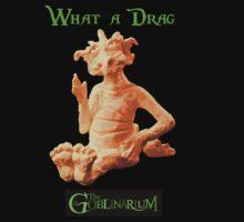 What a Drag - Dragon Shirt by goblinarium