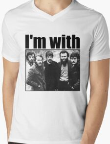 I'm with The Band Mens V-Neck T-Shirt