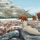Palaeozoic scene by A V S TURNER