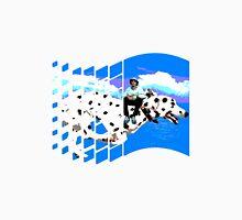 Windows 98 Lean riding & nice doggo Unisex T-Shirt