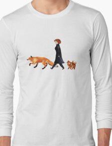 Fox & Dana Long Sleeve T-Shirt