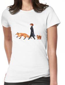 Fox & Dana Womens Fitted T-Shirt