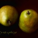 Perfect Pair of Green Pears by LouiseK