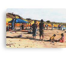 Tango Beach Canvas Print