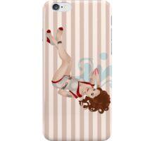 Brunette Pin-Up Case iPhone Case/Skin
