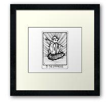 Tarot Series: The Empress Framed Print