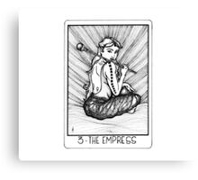 Tarot Series: The Empress Canvas Print
