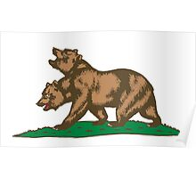 New Bears of the Californian Republic Poster