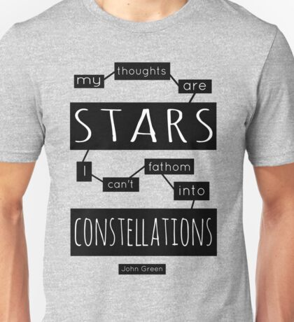 "TFiOS: ""My Thoughts Are Stars"" Unisex T-Shirt"