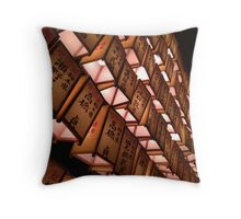 Lanterns in the Night Throw Pillow