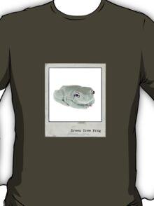 Green Tree Frog Polaroid T-Shirt