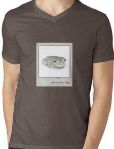 Green Tree Frog Polaroid Mens V-Neck T-Shirt