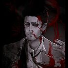 Bloody Castiel Case by HizaChu