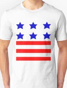 Stars and Stripes American Flag Unisex T-Shirt