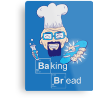 Baking Bread Metal Print