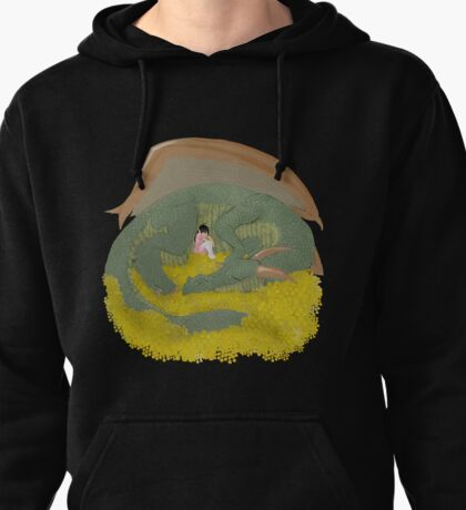 Dragon and Princess Pullover Hoodie