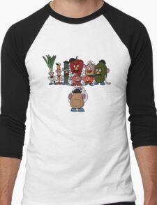 Potato family Men's Baseball ¾ T-Shirt