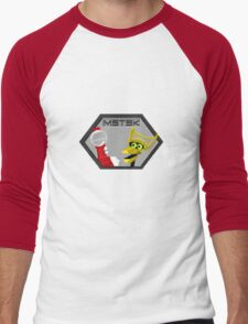 Mystery Pixel Theater 3000 Men's Baseball ¾ T-Shirt