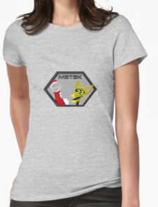 Mystery Pixel Theater 3000 Womens Fitted T-Shirt
