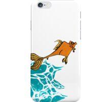 Goldfish Illustration Print iPhone Case/Skin
