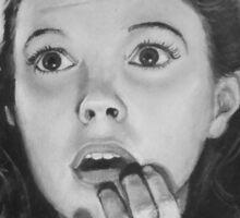 Judy Lolly Garland Sticker