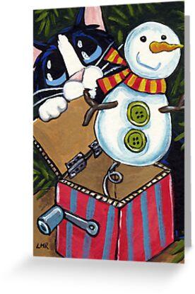 Snowman Surprise by Lisa Marie Robinson