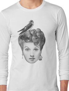 Lucille Bird Ball Long Sleeve T-Shirt