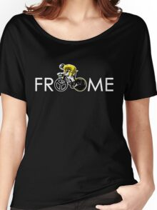 Chris Froome Tour de France 100th Winner 2013 Women's Relaxed Fit T-Shirt