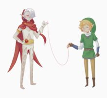 Zelda / Ghirahim & Link by ZeonAce