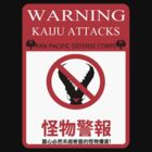 Warning Kaiju Attacks by kingUgo