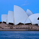 sydneys opera house  by milena boeva