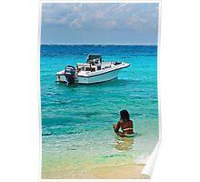The sea shore Poster